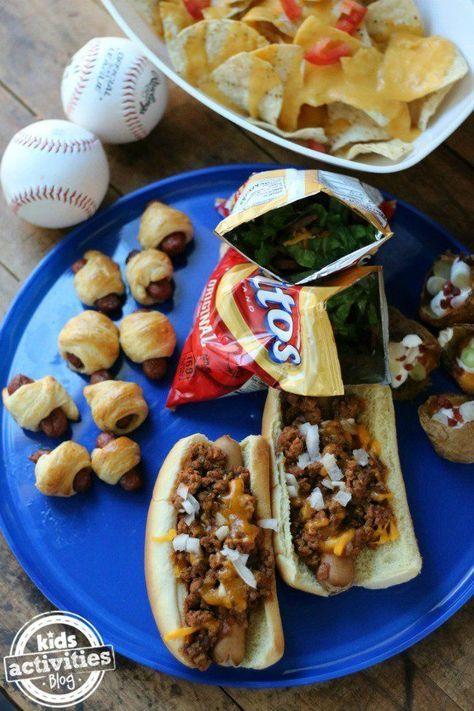 5 Perfect Baseball Foods to Start the Season