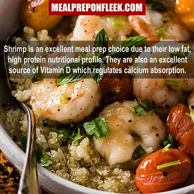 Nutrition Fact: Shrimp
