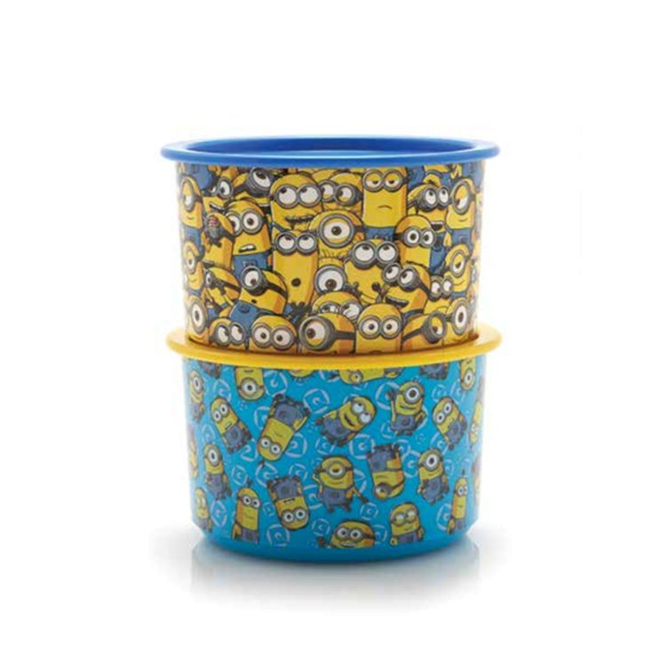 087837805779, Minion Giggle Canister Tupperware, Tupperware Promo Januari 2018, Katalog Promo Tupperware Januari