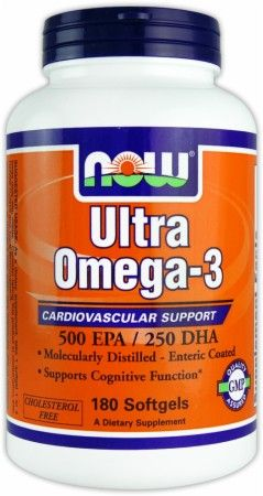 Ultra Omega-3 Fish Oil by NOW at Bodybuilding.com: Lowest Prices for Ultra Omega-3 Fish Oil!