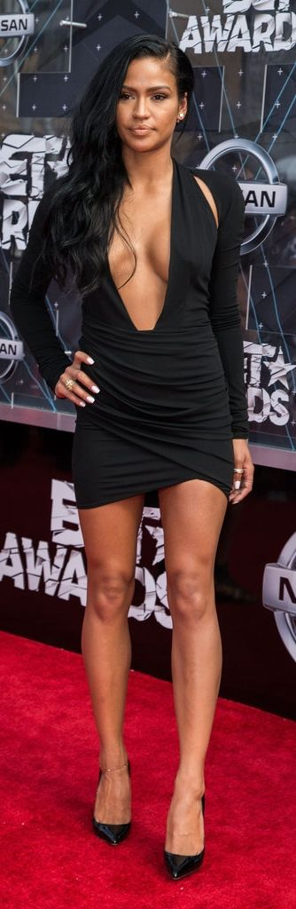 Cassie at the 2015 BET Awards