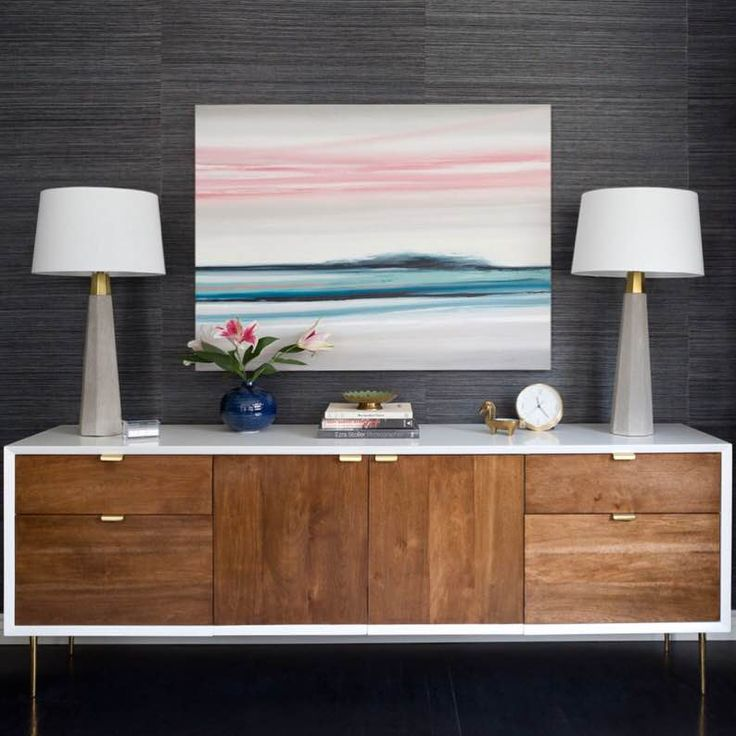 On @homepolish | Artwork by Zoe Pawlak @zoepawlak | Design by @erinkaneinteriordesign | Photos by @amybartlam | Art sold by @uprisenyc  #interior #design #homes #house  #interiordesign #painting #oil #zoepawlak #artwork #design #interior #bold #contemporary #abstract #color #montreal #contemporaryart #abstractpainting  #canadianart #landscape #landscapepainting #office #officedesign
