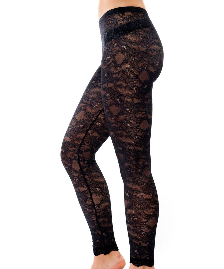 Dahlia Sheer Lace Leggings