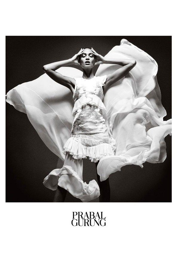 Joan Smalls for Prabal Gurung Spring/Summer 2013 Campaign