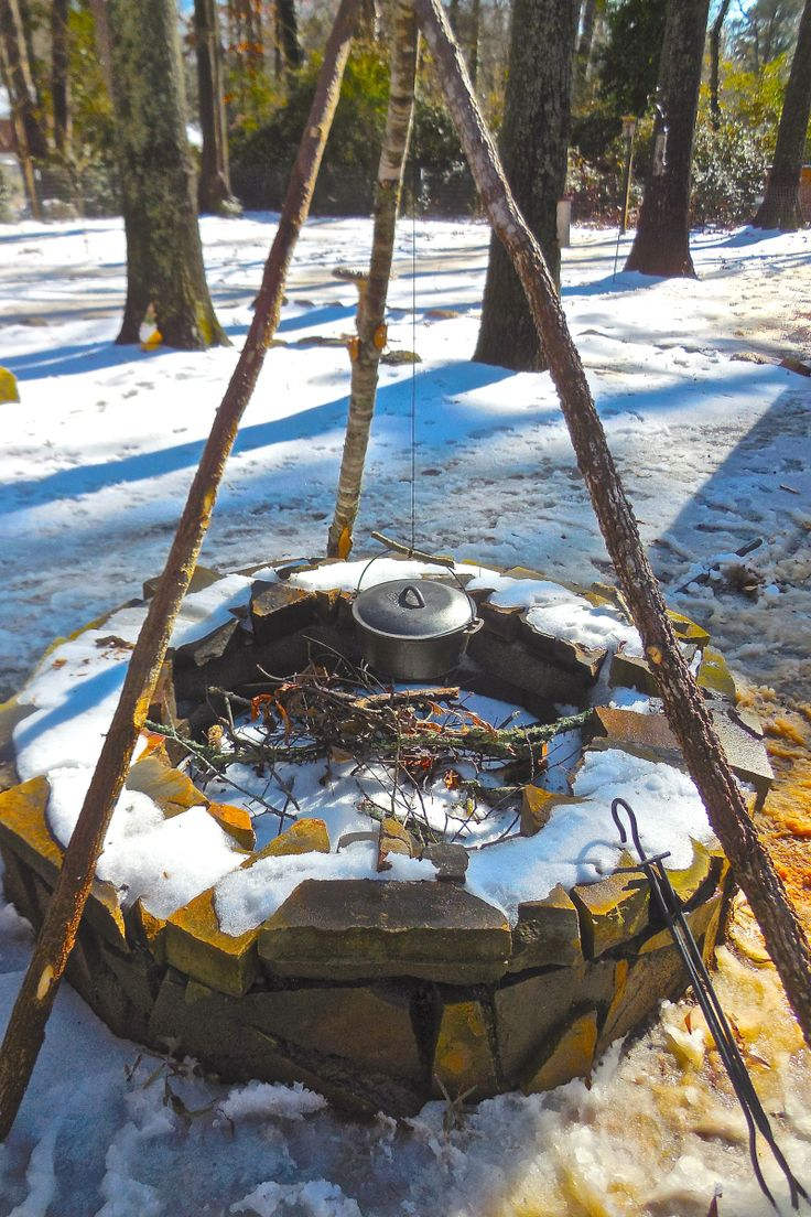 How to Build a Bushcraft Tripod for Your Outdoor Kitchen | Survival Sherpa on WordPress.com Good.