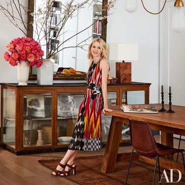 Naomi Watts and Liev Schreiber collaborate with design firm Ashe + Leandro to transform a Manhattan artist's loft into an inviting family oasis