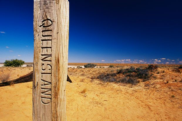 Poeppel Corner, Simpson Desert National Park, Qld