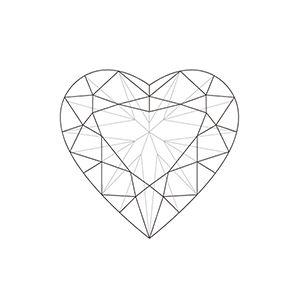 Heart Shaped Diamonds | Diamond Information Centre Online Information ...