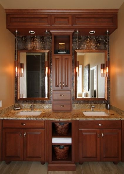17 best images about tile work behind bathroom mirror on for Bathroom ideas channel 4
