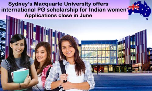 Sydney's Macquarie University offers international PG Scholarship for Indian Women... #morevisas #AustraliaStudentVisa #StudyinAustralia   https://www.morevisas.com/immigration-news-article/sydney-s-macquarie-university-offers-international-pg-scholarship-for-indian-women/4970/
