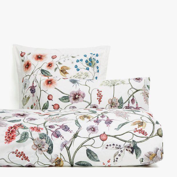 fall collection botanical duvet cover - Zara