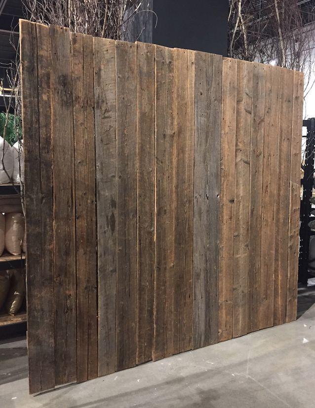 Barnwood Wall Backdrop - for 60 reasons