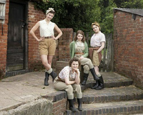LAND GIRLS   Life for the girls, left behind, when the men went to fight in the war, during the Second World War.