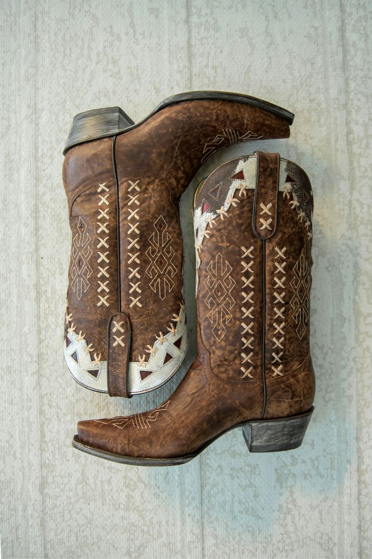 Southwestern vintage leather boots