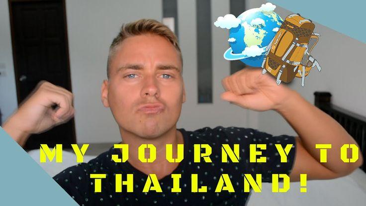 My Journey To Thailand! | Vlog (Helsinki, Phuket, Room tour)