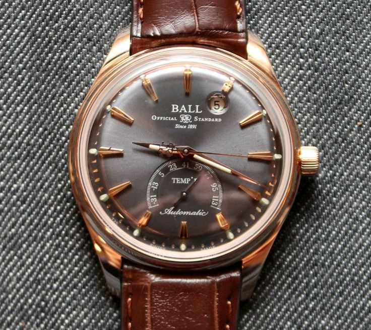 146 best images about ball watch conductors black ball trainmaster kelvin watch review