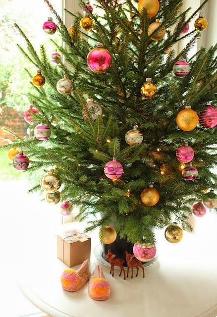 Pink & Gold Christmas Tree