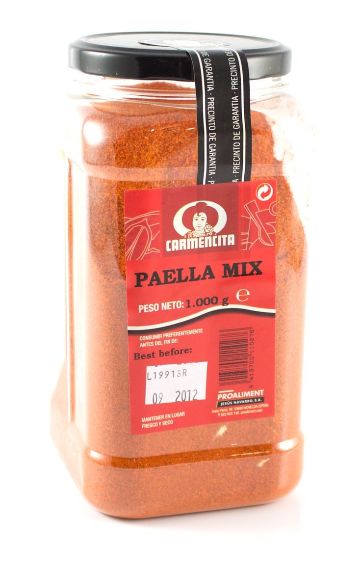 The ever popular Carmencita paella mix is now available in a catering size pack, offering a massive saving over buying individual sachets.