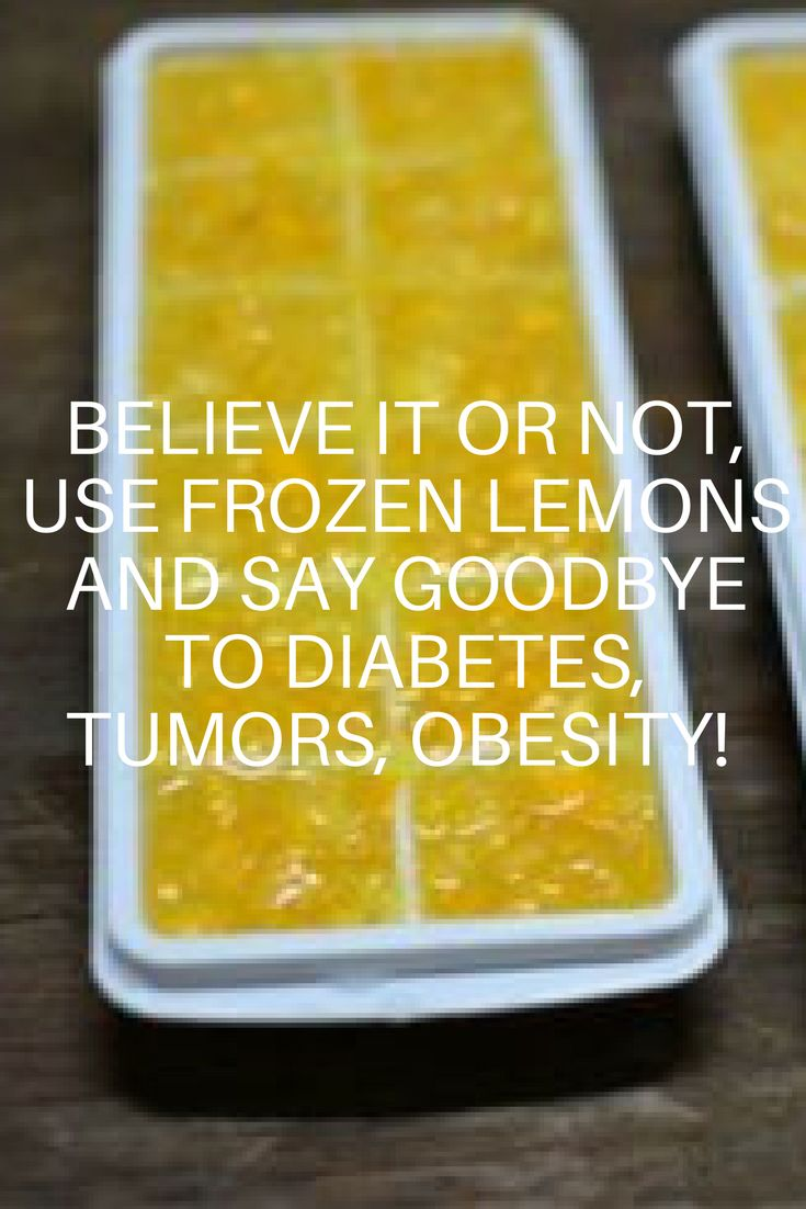 Believe It Or Not, Use Frozen Lemons And Say Goodbye To Diabetes, Tumors, Obesity! (VIDEO)