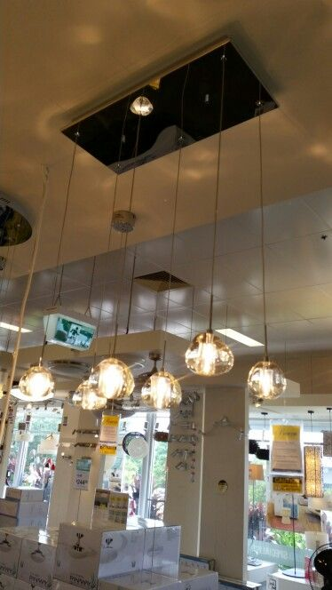 Pendant lights for above island bench - $795 @ beacon