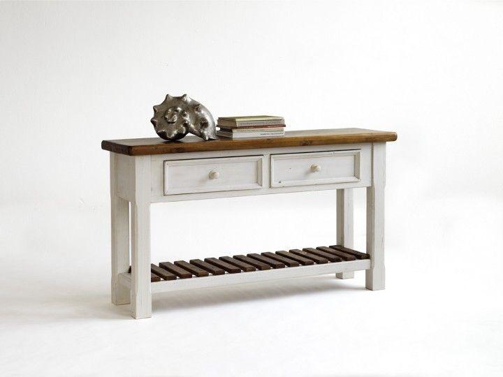 Rustikale Anrichte Astrid aus Kiefer #Weiß #Möbel #Anrichte - wohnzimmer kiefer weis