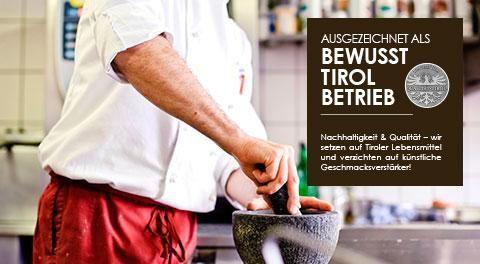 gehobene Küche mit regionalen Tiroler Spezialitäten im Hotel Stubaierhof Neustift im Stubaital