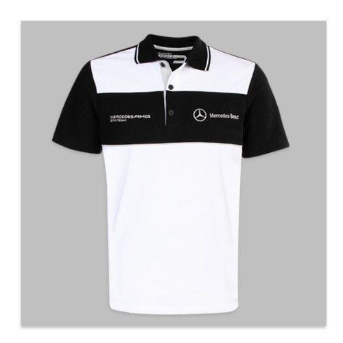 Genuine mercedes benz men 39 s motorsport polo for Mercedes benz t shirt