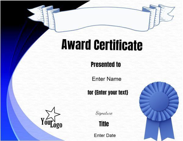 The 25+ best Free certificate maker ideas on Pinterest - free award certificate templates