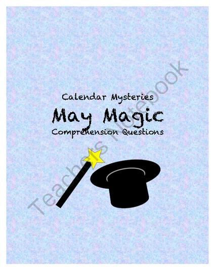 Calendar Mysteries May Magic : Best comprehension questions ideas on pinterest fast