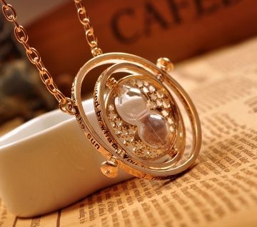 Hermione Granger's Rotating Time Turner Necklace