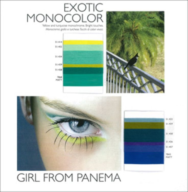 S/S 2014 Colour Trends - Exotic Monocolour