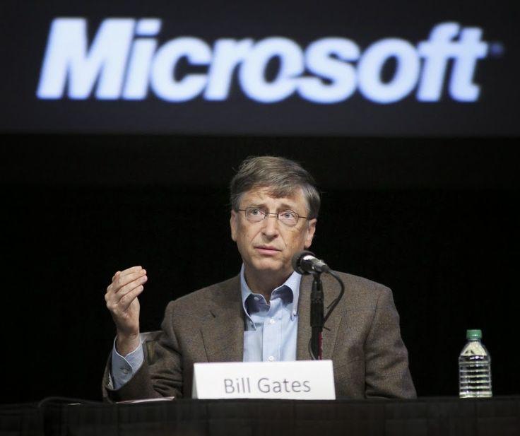 Biografi dan Nilai Kekayaan Bill Gates