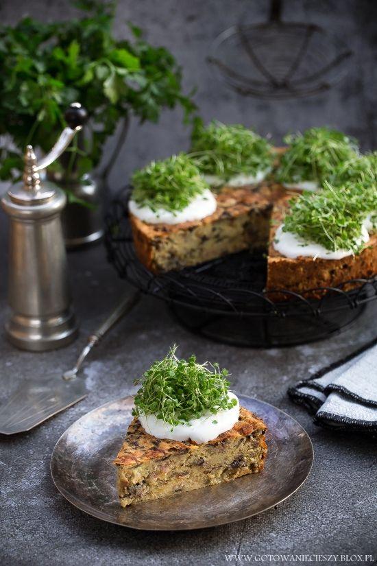 Tort ziemniaczano-pieczarkowy