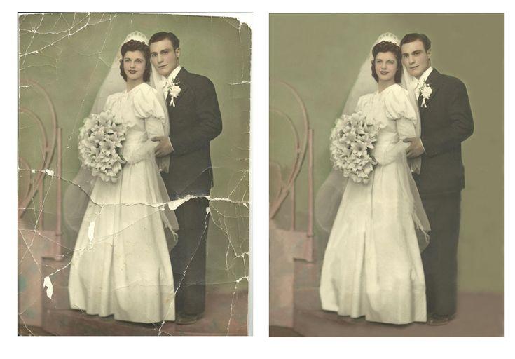 Photo  Restoration,  Photo Repairs,  Photo Retouching
