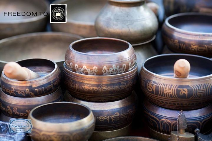 #FreedomOfCulture We suggest you purchase singing bowls from Nepal. These unique Tibetan bells are used  most often during meditation, prayer and relaxation.  The perfect harmonious remedy for anyone looking to de-stress.