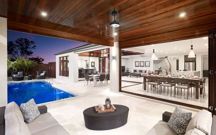 Franklin Resort Ext3, New Home Designs - Metricon