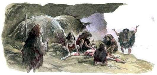 The La Quina Neanderthals by Emmanuel Roudier