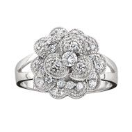 Alpha Chi Carnation Ring