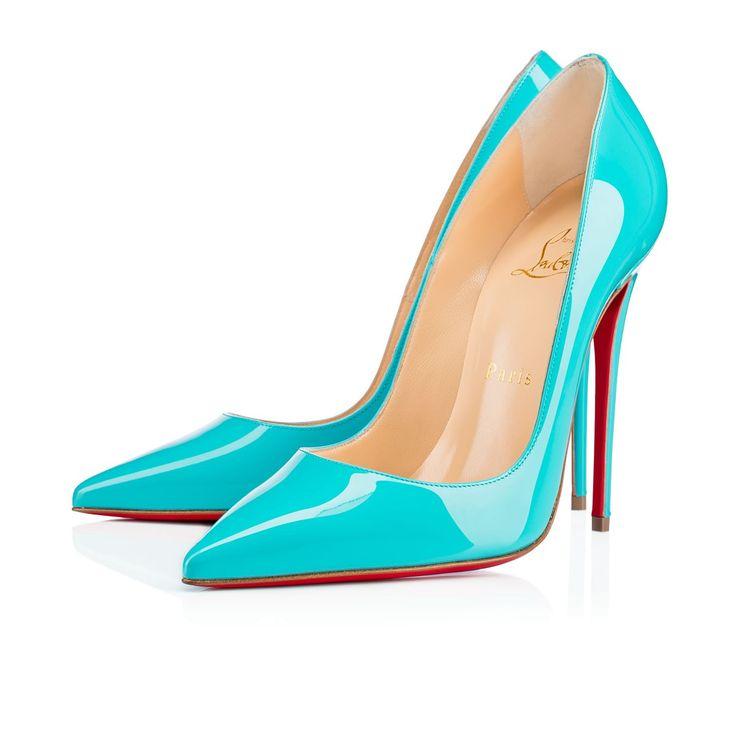 christian louboutin tiffany blue shoes