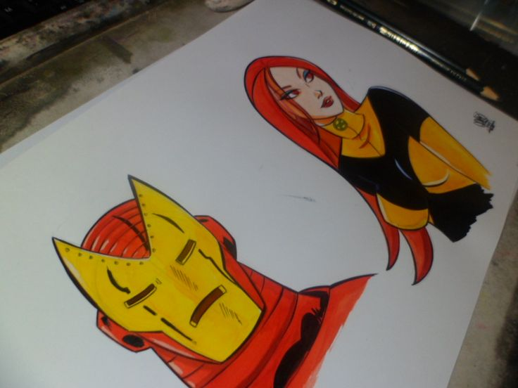 Marvel heroes by celaoxxx.deviantart.com on @deviantART