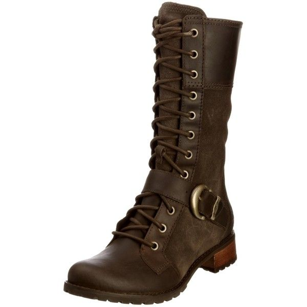 Timberland Women's Bethel Mid Lace Boot ($180) ❤ liked on Polyvore featuring shoes, boots, rubber sole shoes, rubber sole boots, timberland footwear, laced boots and lacing boots
