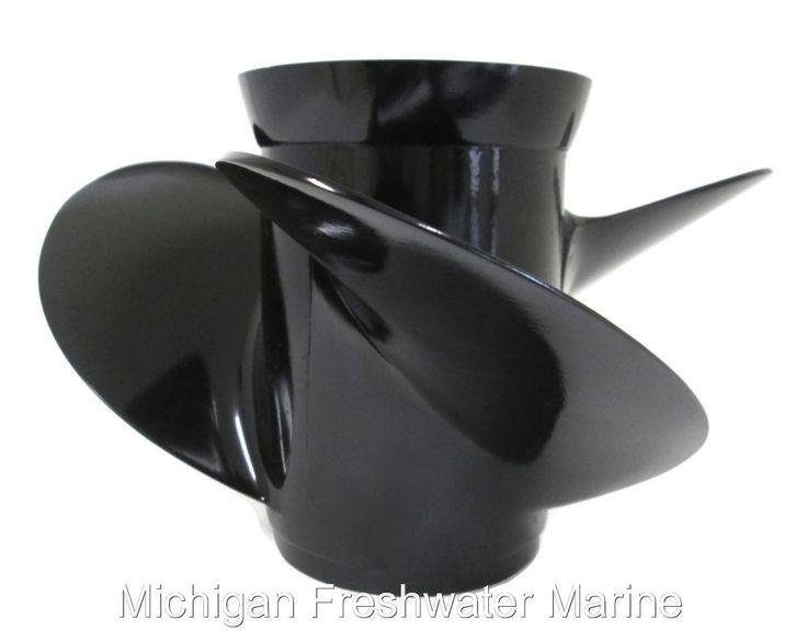 OMC Johnson Evinrude 14.5 x 9 LH Propeller #390821 #OMC #Johnson #Evinrude #9Pitch #Propeller #LH #Outboards #Sterndrives #MichiganFreshwaterMarine #ThruHubExhaust