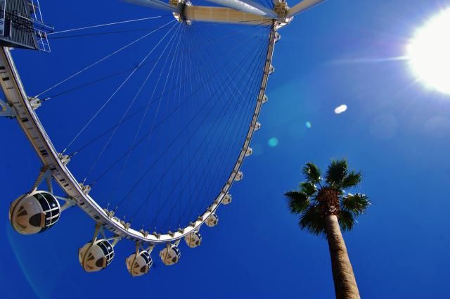 What's The Best Time to Visit Las Vegas?: The Weather at the High Roller at the LINQ