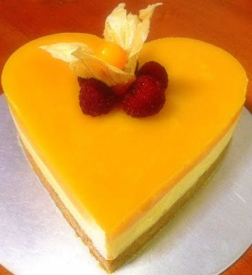 This Mango Mousse Cake wasfor my mom who celebrated her 66th birthday in March.                Mango Mousse Cake   Ingredients:   For the...
