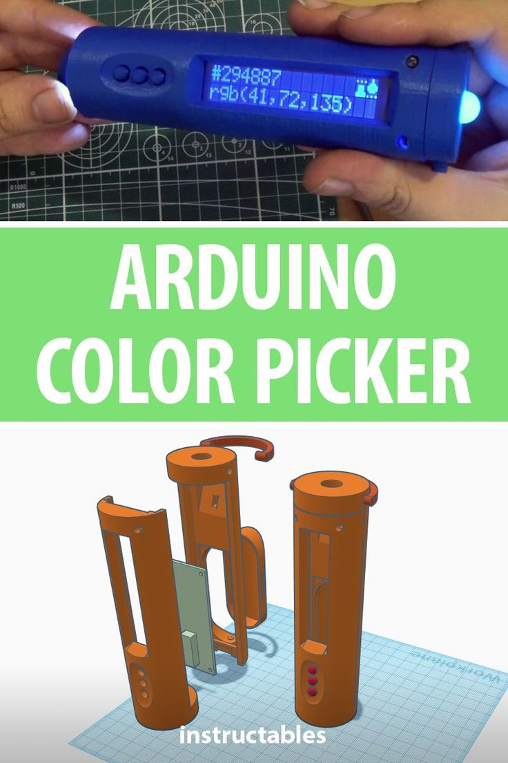 Arduino Color Picker – Instructables