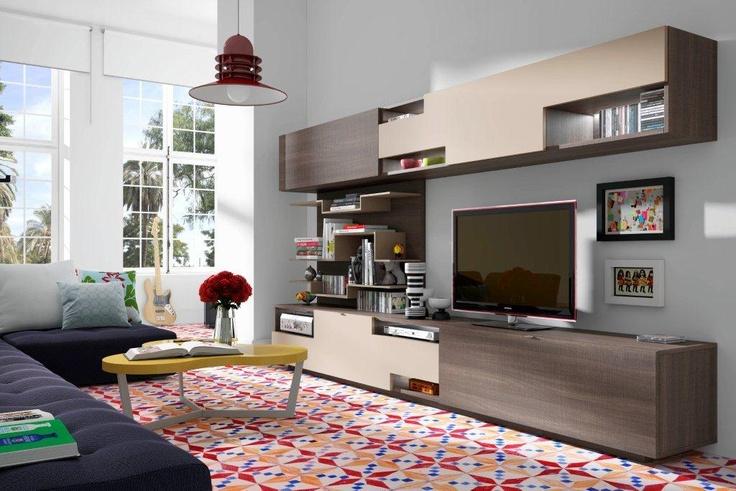 Ya tenemos una foto de un ambiente de sal n kazzano moving - Combinacion de colores para salones ...