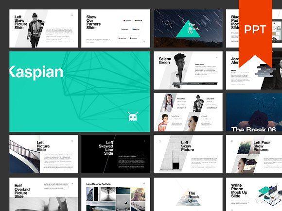 KASPIAN PowerPoint Presentation by GoaShape on @creativemarket