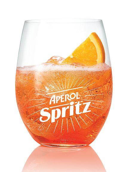 Aperol Spritz (1. Ready, set, Spritz! 3 parts Prosecco, 2 parts Aperol, 1 splash…