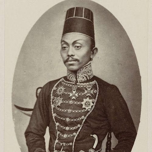 Pakoe Boewono IX, Susuhunan van Surakarta, Woodbury & Page, 1868 - 1872 - Rijksmuseum