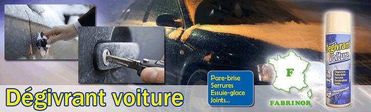 FABRINOR Dégivrant voiture. Pare-brise, serrures, essuie-glace, joints...